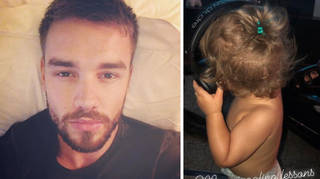 Liam Payne reacted to Cheryl showing fans more photos of Baby Bear.