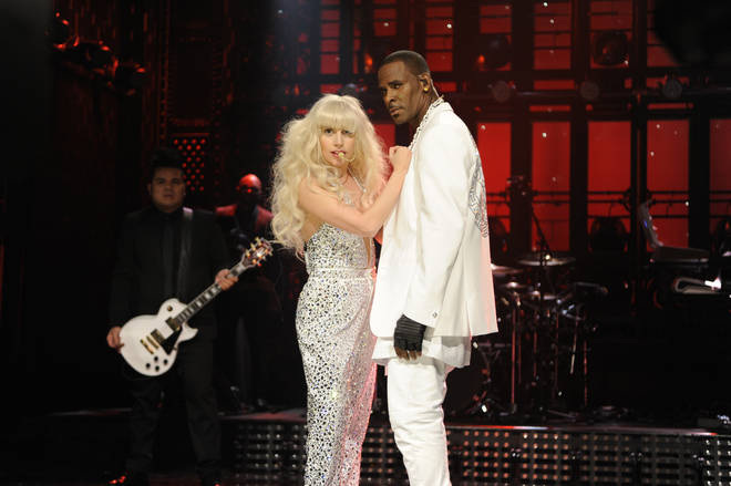 Lady Gaga previously performed on Saturday Night Live with R. Kelly