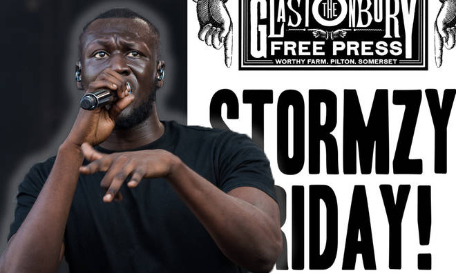 Stormzy says critics of his headline Glastonbury slot 'don't deserve the fuel'