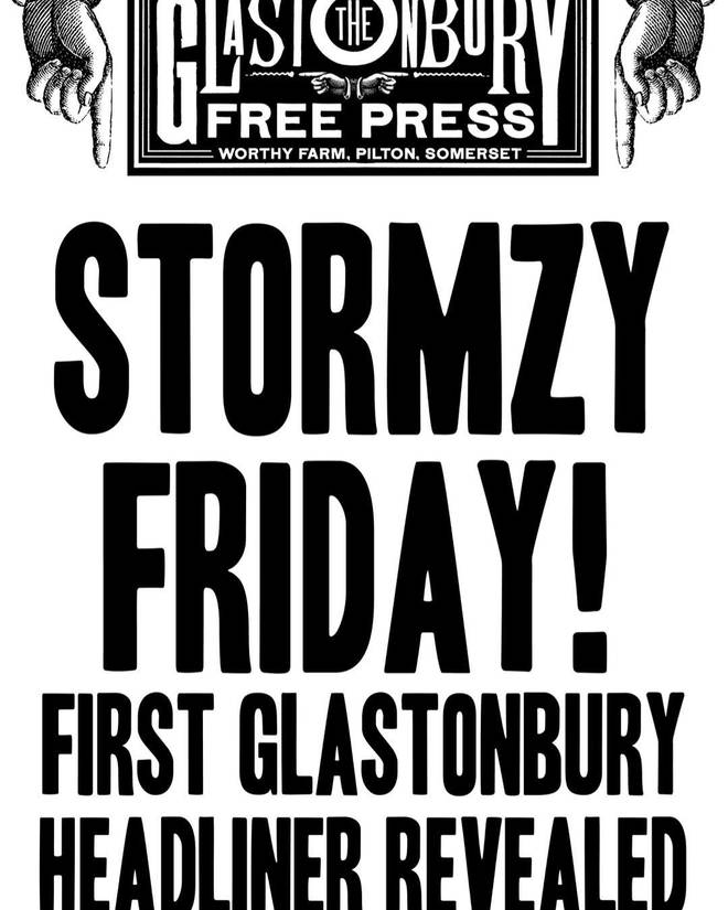 Stormzy says he's ready to prove people wrong with his headline Glastonbury set