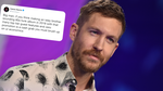 Calvin Harris responded to a troll on Twitter over his latest album