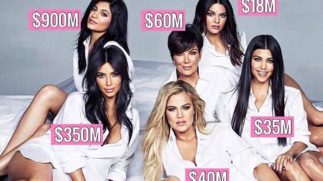 Kardashian-Jenner Family Net Worth Revealed  Kendall Jenner Is ... fd1587a383d