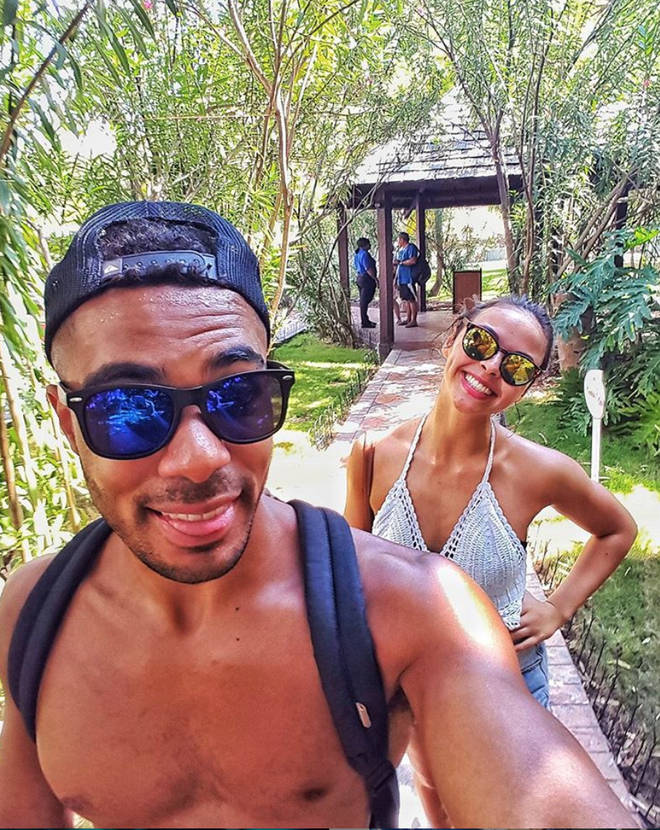 Vanessa Bauer and her ex Louis Nathaniel travelled all over the world together