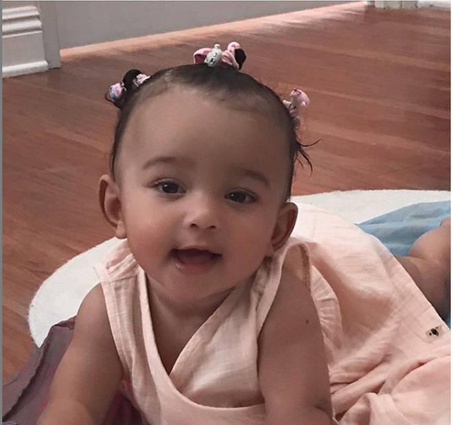 Kim Kardashian's third child, Chicago, was born via surrogate.