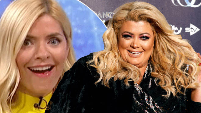Holly Willoughby shocked over Gemma Collins