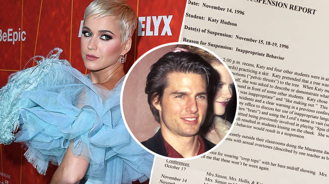 Katy Perry's 6th grade school report including her incident regarding Tom Cruise