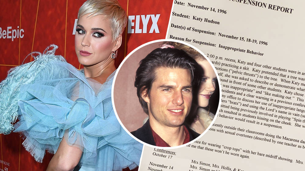 Katy Perry Was Suspended From School All Because Of Tom Cruise