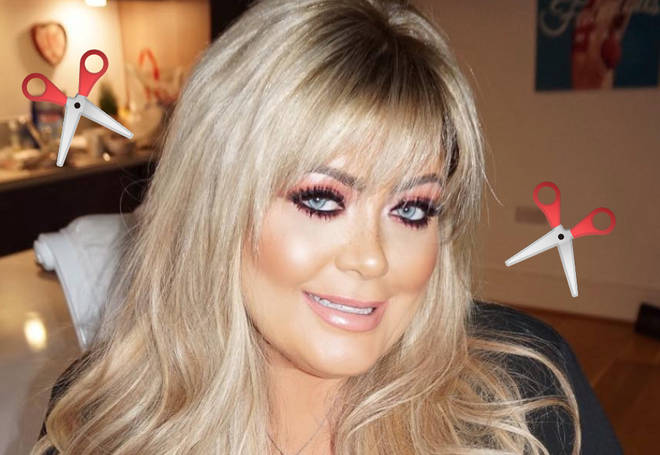 Gemma Collins is rocking a brand new 'do.