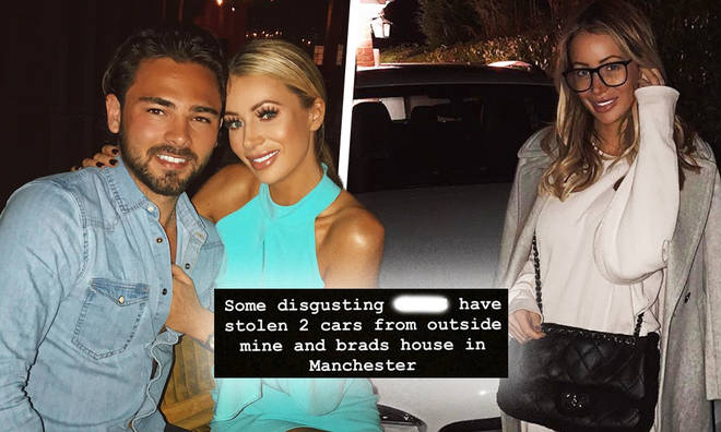 Olivia Attwood's robbed of luxury goods at house with boyfriend Bradley Dack