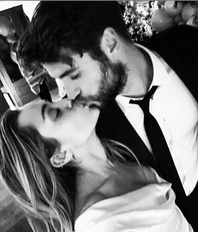 Miley Cyrus and Liam Hemsworth got married over Christmas