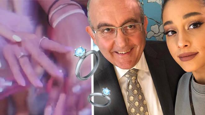 Ariana Grande buying her 7 rings from Tiffany & Co jeweller Tony Jabaly