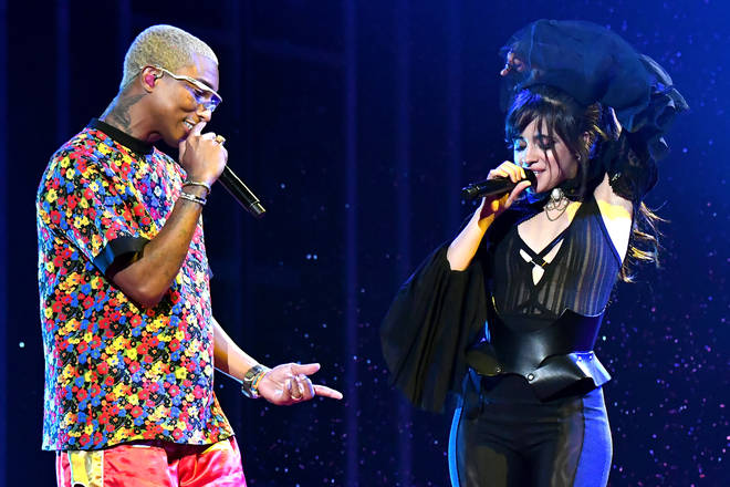 Camila Cabello and Pharell performed 'Sangria Wine' at the 2018 Billboard Awrards