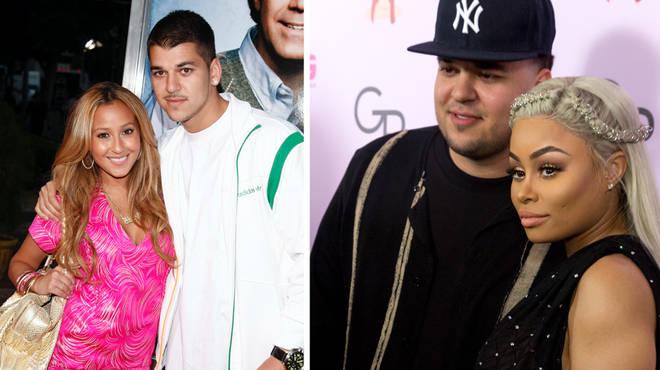 Rob Kardashian's high profile dating list from Adrienne Bailon to Blac Chyna.