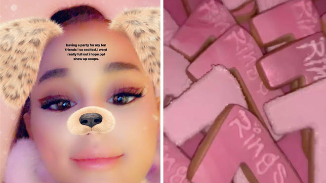 Ariana Grande hosted the best '7 Rings' celebration party.