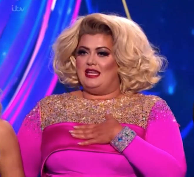 Gemma Collins slammed Jason Gardiner for 'selling stories' in Dancing On Ice