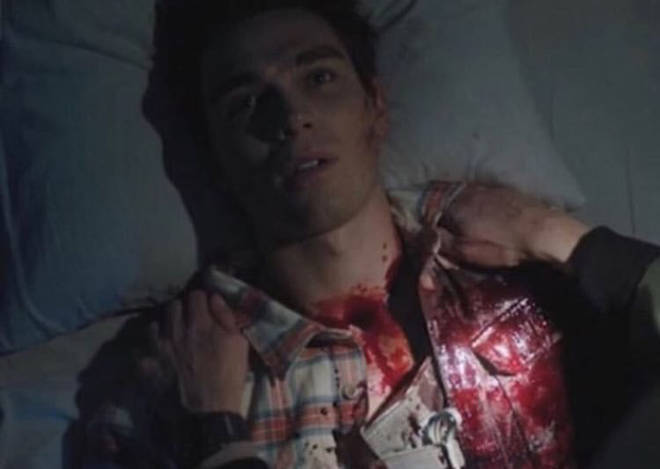 Archie Andrews appeared to die at the end of the last episode of Riverdale.