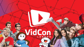 VidCon London is back for 2019.