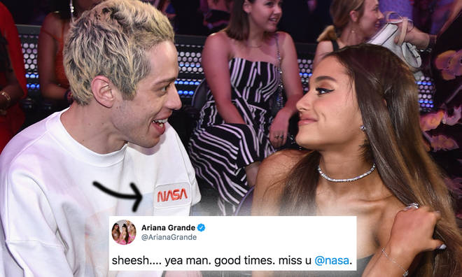 Ariana Grande's track NASA rumoured to be about ex Pete Davidson