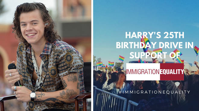 Fans have raised over $5000 to celebrateHarry Styles' 25th birthday.