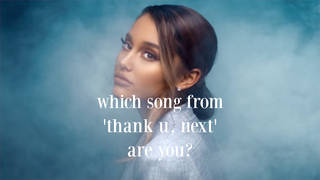Take this quiz to see which song from Ariana Grande's fifth album you are