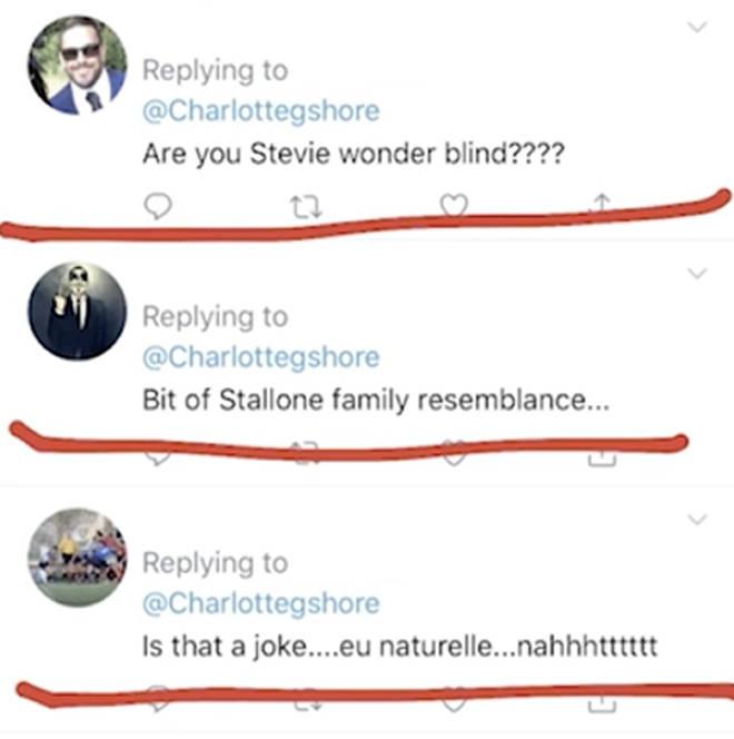 Charlotte Crosby name and shamed internet trolls