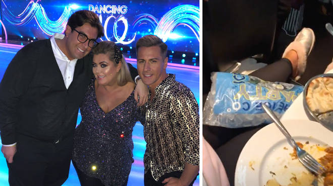 TOWIE's Gemma Collins has reveals her Dancing On Ice injuries
