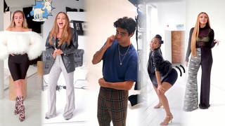Little Mix and Noah Centineo showed off their party tricks for ASOS