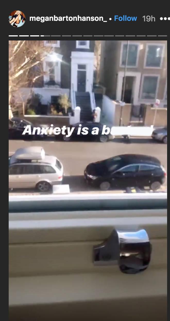 Megan Barton Hanson exposes paparazzi hiding outside her house