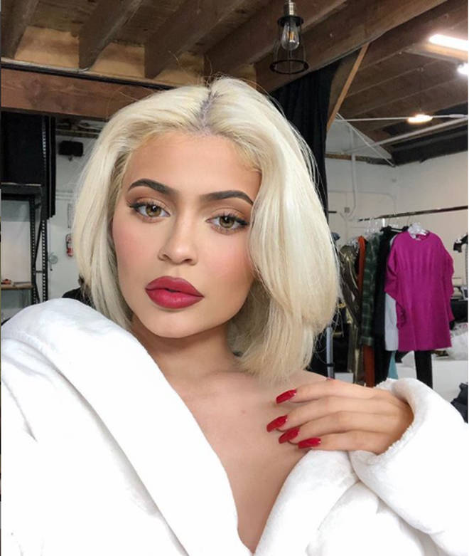 Kylie Jenner has admitted to having lip fillers.