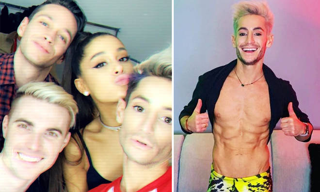 Frankie Grande's split from the married couple he dated for five months