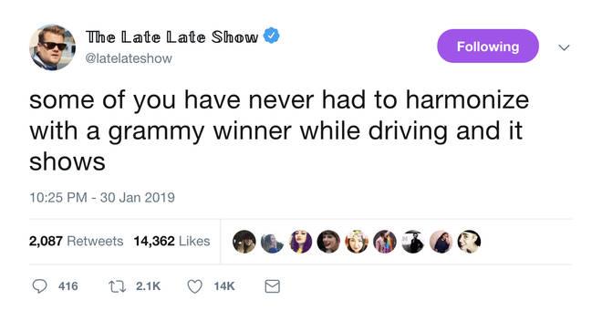 The Late Late Show tease Taylor Swift's appearance on Carpool Karaoke