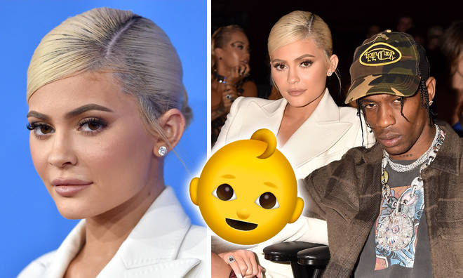 Kylie Jenner hints she's pregnant with her second baby