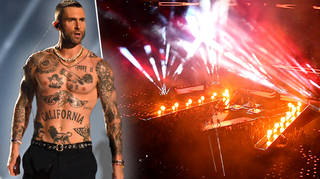 Watch Maroon 5's full halftime Super Bowl performance