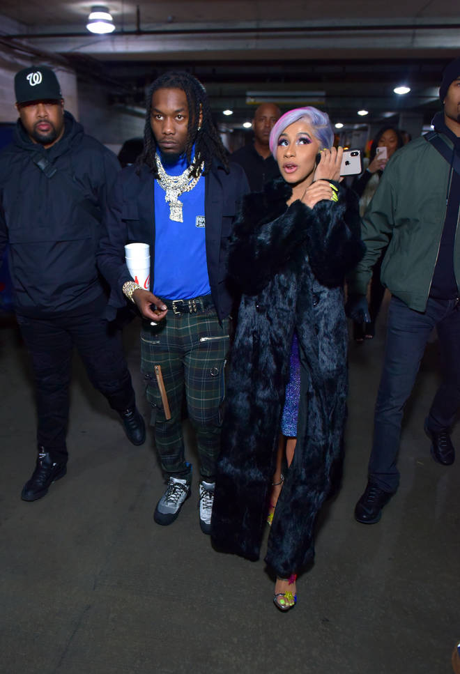 Cardi B and Offset spotted for the first time since reconcilling