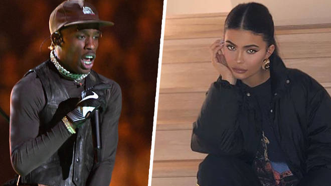 Only Kylie Jenner turned up to support Travis Scott's Super Bowl performance.