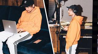 Louis Tomlinson has been working on his new album.