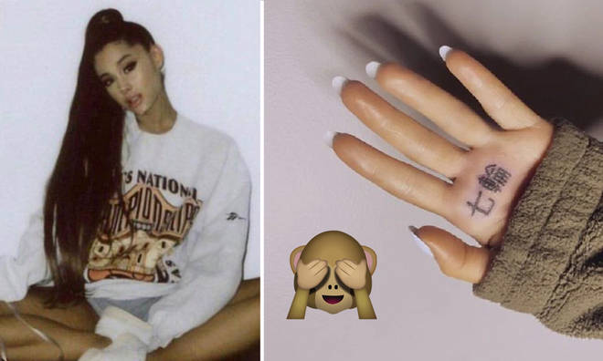 Ariana Grande wants fans to 'get off her nuts'.