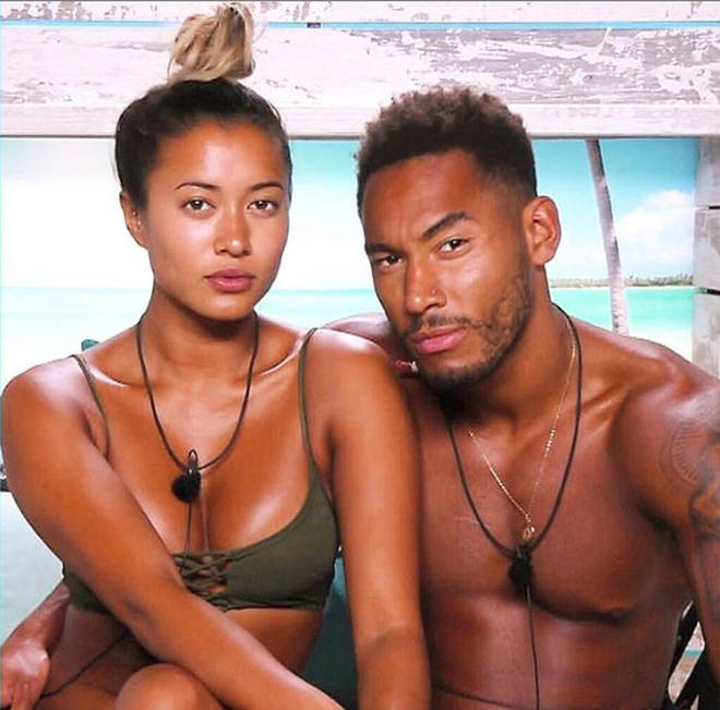 Kaz Crossley coupled up with Josh Denzel on the show.