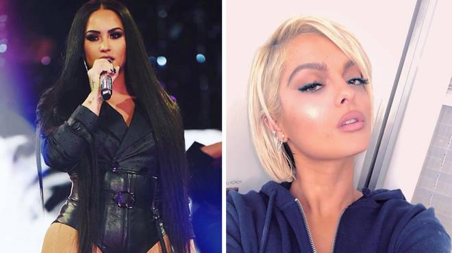 Bebe Rexha defends Demi Lovato in 21 Savage tweet backlash
