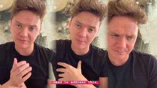 Conor Maynard shared the story of how he was robbed at gunpoint
