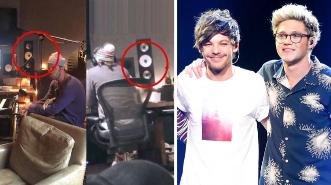 Niall Horan and Louis Tomlinson have been recording in the same studio