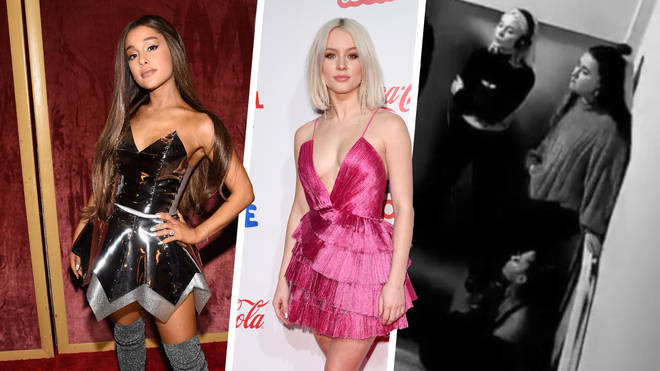 One of Zara Larsson's upcoming songs features backing vocals by Ariana Grande