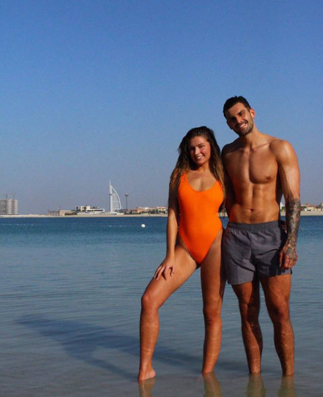 Adam and Zara often post promotional photos from various destinations.