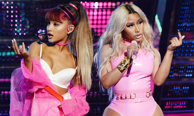 Ariana Grande and Nicki Minaj clap back rumours of a feud