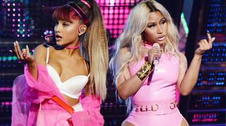 Ariana Grande and Nicki Minaj clap back rumours of a feud