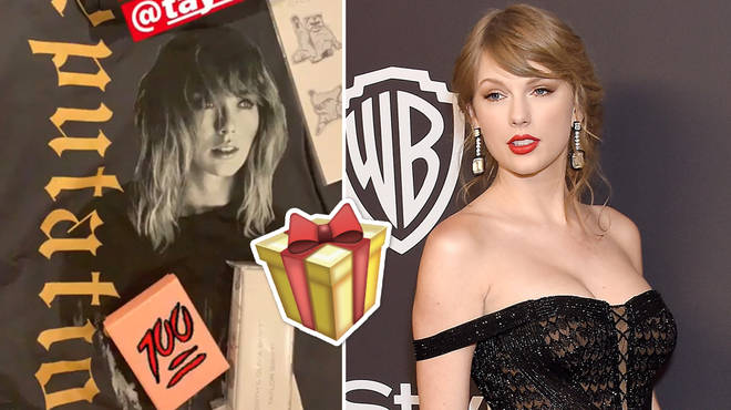 Taylor Swift's 'Cats' themed gift she sent to her fellow castmates