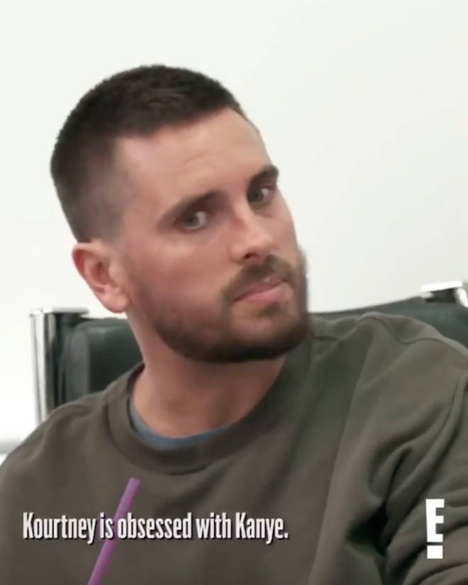 Scott Disick can't get over Kourtney's obsession with Kanye
