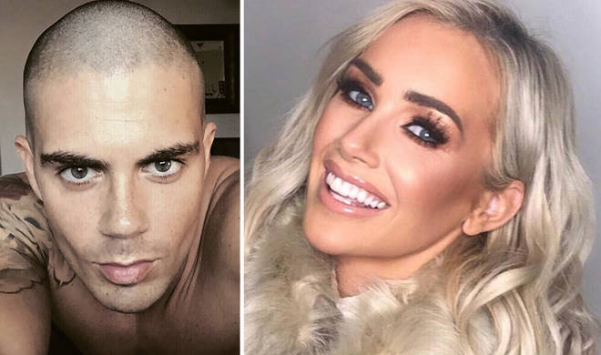 Laura Anderson claimed Max George slid into her DMs.