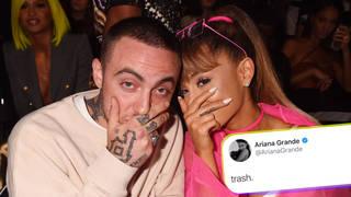 Ariana Grande called Mac Miller's GRAMMYs loss 'trash'