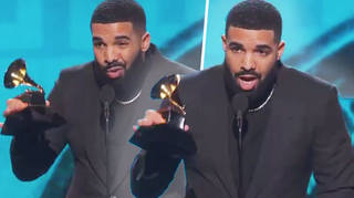Drake's Grammy speech cut off after dissing the Recording Academy